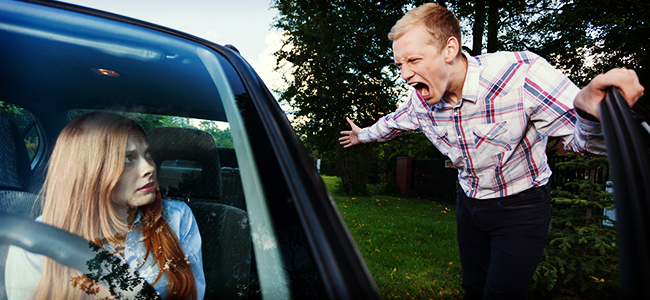 Road Rage – Sue, and Report It!