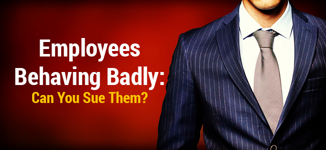 Employers: When Should You Sue Rogue Employees? A R33m Example